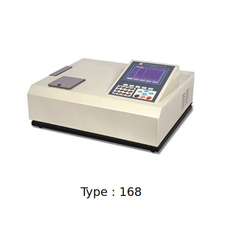 Controller Based Visible Spectrophotometer with Graphic LCD Display