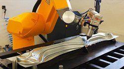 3D, 5 Axis Laser Cutting Machine