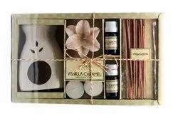 AuraDecor Vanilla Caramel Premium Fragrance Gift Set