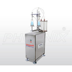 SS 2 Head Vacuum Filling Machine