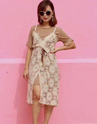Overlay Lace Dress