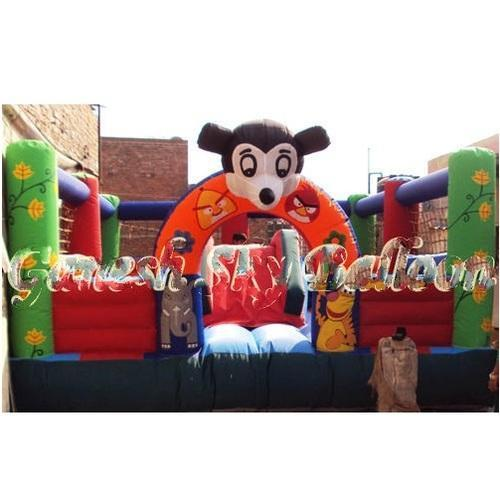 Multi Color Inflatable Bouncy Toy