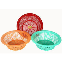 Plastic Small Basket Set Of 3 Rs 35