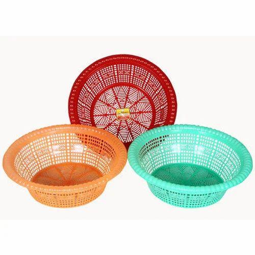 Plastic Small Basket Set Of 3