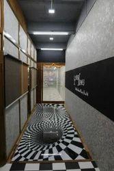 50 Sqft Wooden Flooring Epoxy 3D Flooring