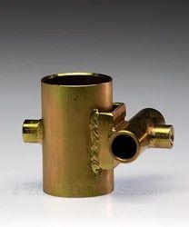 Brass Cross Tee