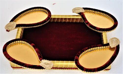 Special Wedding Rectangle Silk Tray