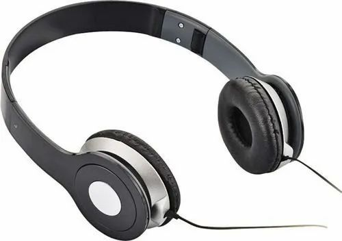 Black Sociosis Productions Folding Stereo Headphone
