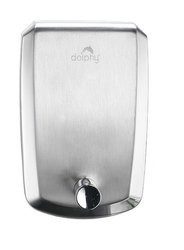 Silver SS Soap Dispenser, (0002)
