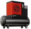 Tank Mounted Screw Air Compressor With Advance Controller