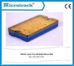 Large Medium Tray With Silicon Mat