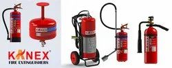 Mild Steel ABC Kanex fire extinguisher