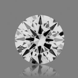 CVD Diamond 1.11ct F VVS2 Round Brilliant Cut IGI Certified Stone
