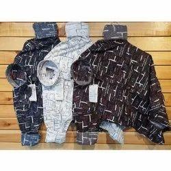 Cotton Collar Neck Mens Casual Shirts