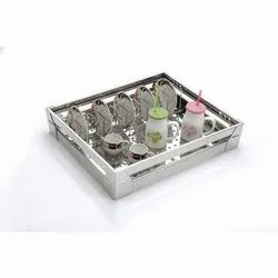Stainless Steel Cup Plate Kitchen Basket