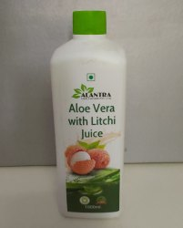 Aloevera Litchi Juice, Packaging Type: Bottle