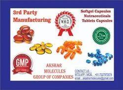 Softgel capsules Of Dha,Folic Acid,Methylcobalamin & Pyridoxine Hcl