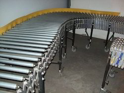 Stainless Steel Can Roller Conveyors, Length: 1-10, 10-20, 20-40 feet