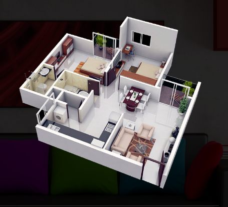 3D Interiors Modeling And Rendering Services