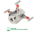 Double Block & Bleed Gauge Valves