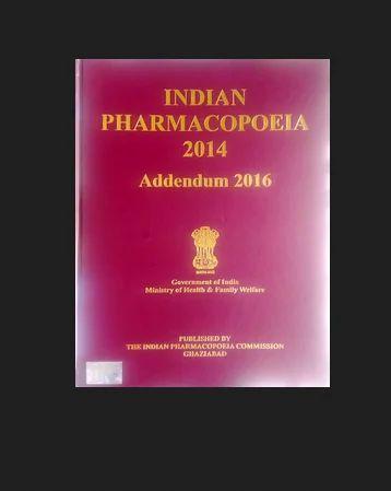 Indian Pharmacopoeia Pdf