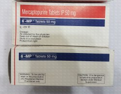 6-MP 50mg 10s x 10 Tablet