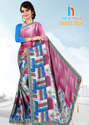 Bollywood Shridevi Print Latkan Saree