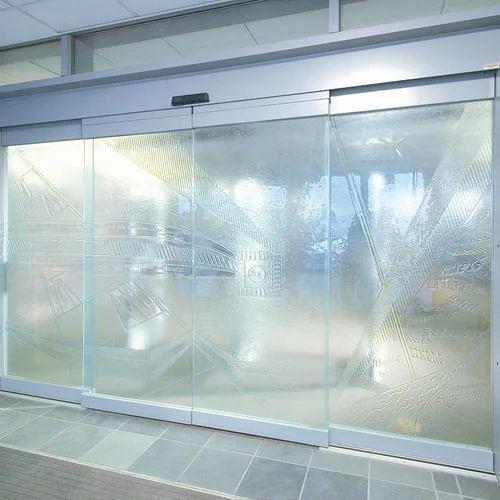 Automatic Glass Door Sensor Glass Door Zedex Enterprises Pune