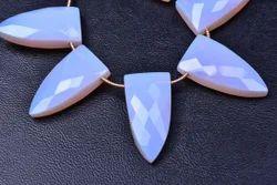 3 Pair 12x24mm Amethyst Citrine Topaz Opal Peridot Sapphire Garnet Quartz Faceted Pyramid Briolettes