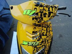 Front Scooters Stickers