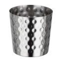Hammered Chip Cup Dia8.5 Dull