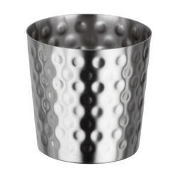 Hammered Chip Cup Dia 8.5 Dull