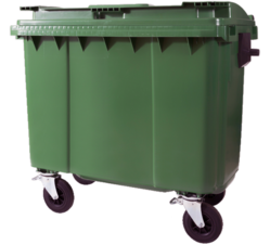 Four Wheel Waste Bin