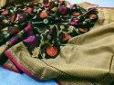 Pure Cotton Masrys Banarasi Silk Sarees