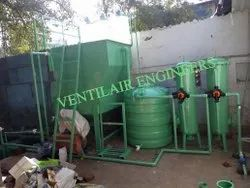 Effluent Treatment Machine For Vehicle Washing