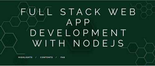 Full Stack Web App Development With Nodejs in Greater Noida