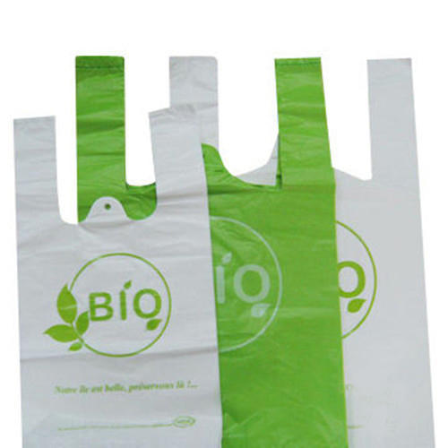 Biodegradable Plastic Bag Capacity 1kg 20kg