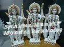 Marble Ram Darbar Sculpture