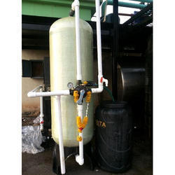 Vertical Industrial Softener Plant
