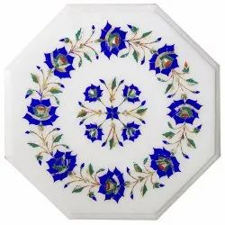 Flooring Design Marble Table Top, Marble Mosaic Inlay Table