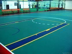 PVC Basketball Court Flooring