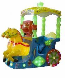 Twin Horse Kiddie Rides