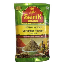 25 kg Sainik Dhaniya Powder, Packaging: Packet