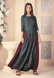 Pr Fashion Launched Beautiful Designer Long Kurti