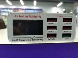 Sunshine SS 304 Q 6 Port USB Charger