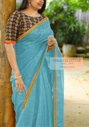 Indian Style Casual Wear Fancy Sarees for Women