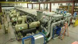 Mild Steel HVAC Units, Capacity: 5 T To 400 T