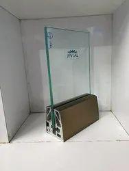 Panel Aluminium Glass Railing