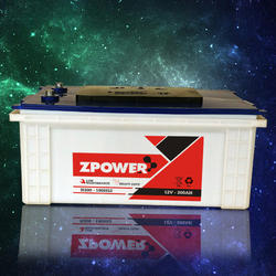Z-Power Dry Charged Car Battery, Voltage: 12 V