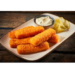 Popcorn Crusted Fish Fingers, Packaging Size: 250 - 750 Gm, Packaging Type: Packets